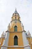 泰国chistian教会的寺庙 免版税库存图片