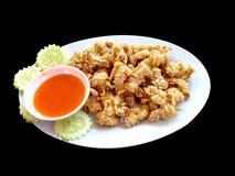 泰国esan的食物 免版税库存图片