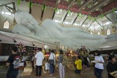 泰国ISAN乌隆他尼WAT PA PHU KON 库存照片