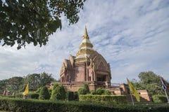 泰国ISAN KHORAT WAT PHA SALAWAN 免版税库存照片