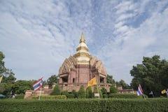 泰国ISAN KHORAT WAT PHA SALAWAN 库存照片