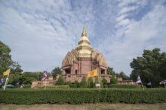泰国ISAN KHORAT WAT PHA SALAWAN 库存图片