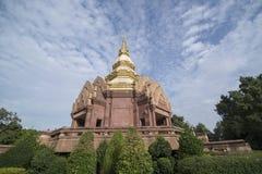 泰国ISAN KHORAT WAT PHA SALAWAN 图库摄影