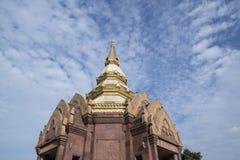 泰国ISAN KHORAT WAT PHA SALAWAN 免版税库存图片
