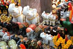 泰国Khaoyai雕塑模型 免版税库存照片