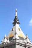 泰国loei的stupa 免版税图库摄影