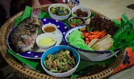 泰国nerthern食物 免版税库存图片