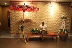 泰国Niramit展示-西瓜艺术 库存照片