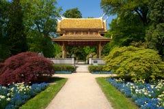 泰国salo的寺庙 库存图片