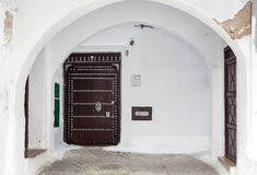 泰图安在摩洛哥 库存图片