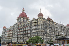 泰姬玛哈酒店在孟买 免版税图库摄影