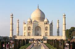 泰姬陵坟茔在阿格拉,印度 免版税库存图片