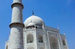 泰姬陵尖塔,印度 图库摄影