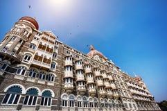 泰姬陵旅馆在孟买 免版税图库摄影