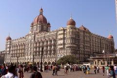 泰姬陵旅馆, Colaba,孟买 免版税库存图片