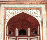 泰姬陵的色变,印度 免版税图库摄影