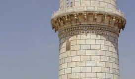 泰姬陵的色变,印度 库存照片
