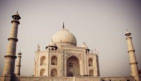 泰姬陵,阿格拉,有过滤器的印度 免版税库存照片