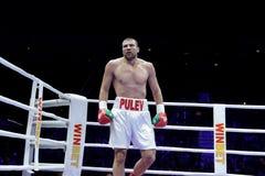 泰尔韦尔Pulev拳击手 免版税库存图片