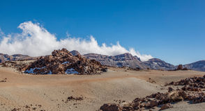 泰德峰国家公园 免版税库存照片