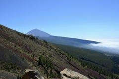 泰德峰(休眠火山),特内里费岛,加那利群岛,西班牙,欧洲 免版税图库摄影