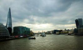 泰晤士伦敦 免版税图库摄影