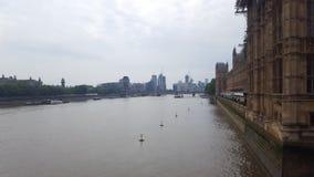 泰晤士河伦敦 免版税库存图片