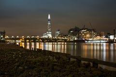 从泰晤士河的看法碎片的 图库摄影