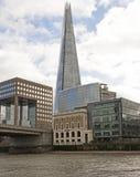 从泰晤士河的碎片 库存照片