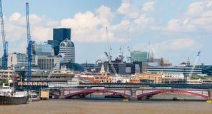 泰晤士河,伦敦,英国 库存照片