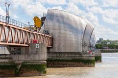 泰晤士障碍在伦敦 库存照片