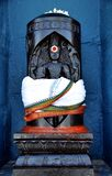 泰米尔人文化神雕象 免版税库存照片
