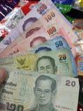 泰铢泰国金钱 库存图片