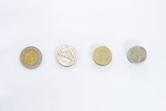 泰铢硬币 库存照片