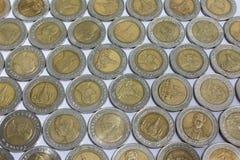 10泰铢硬币 库存照片