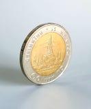 10泰铢硬币 库存图片