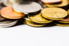 泰铢铸造金钱 库存图片