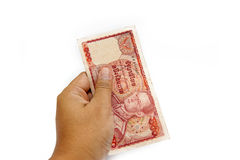 100泰铢 免版税库存照片