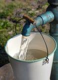 泵水 免版税库存图片