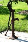 泵水 免版税库存照片
