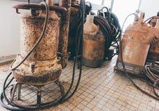 泵潜水艇 免版税库存照片