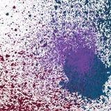 泼溅物油漆霓虹亮光装饰丙烯酸酯,尘土流程, 免版税库存图片