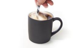 活泼的咖啡 库存图片