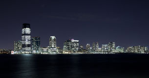 泽西新的晚上 免版税库存图片