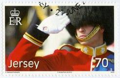 泽西- 2012年:展示威廉亚瑟菲利普路易斯,威廉,剑桥,第30个生日公爵王子 库存图片