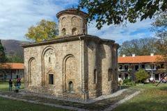 泽门,保加利亚- 2016年10月9日:中世纪泽门修道院,保加利亚惊人的看法  库存图片
