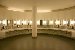 洗手间公共 免版税库存图片