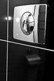 洗手间冲洗器 免版税库存图片