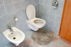 洗手间 免版税库存图片