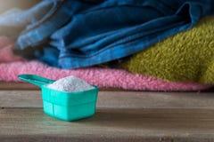 洗涤剂或洗衣粉 免版税库存图片